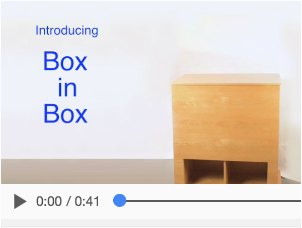 Box in Box video demonstration